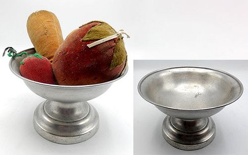 Pewter American Footed Bowl