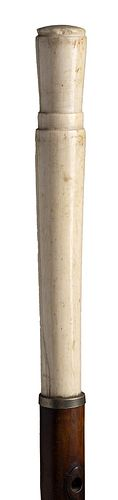 An ivory mounted  walking stick cane - England early 20th Century
