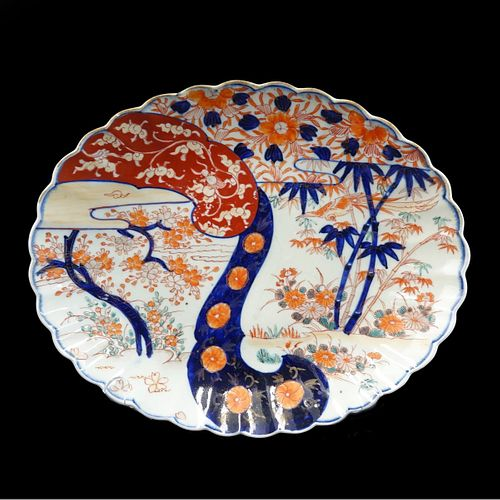 Large Antique Japanese Imari Platter