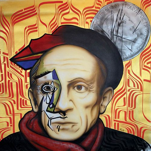 MR. KLEVRA<br>(Roma, 1978)<br>Picasso two face