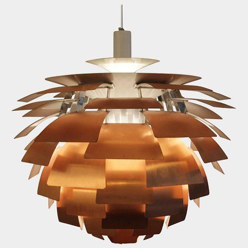 Copper PH Artichoke Lamp