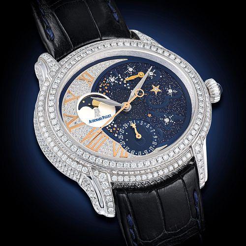 Audemars Piguet Millenary Starlit Sky Ref. 77316 in 18K White Gold