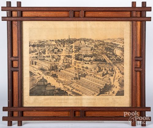 Lineaweaver & Wallace lithograph