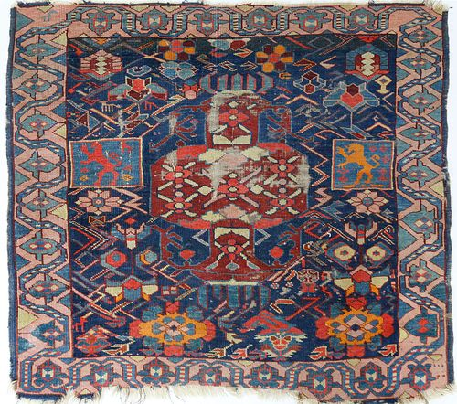 19th Century Caucasian Tribal Mat