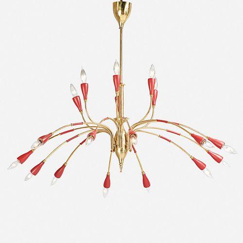 Italian, chandelier