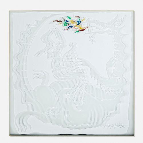 Phillip Ratner, glass panel