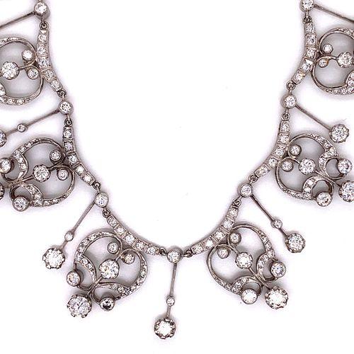 Platinum Diamond NecklaceÊ
