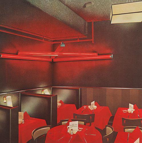 Richard Bernstein, Max's Kansas City, 1978, Silkscreen Print