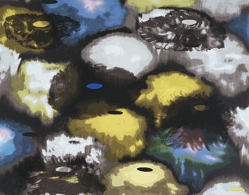 Ross Bleckner, Dream and Do I, Silkscreen Print