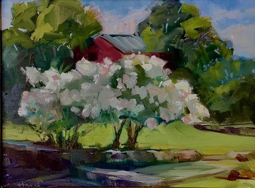 Mark Fernandez, In Bloom, 2019, Oil on Linen Panel