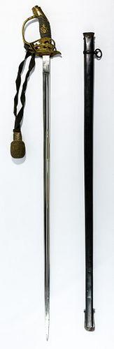 World War I German Sword and Scabbard