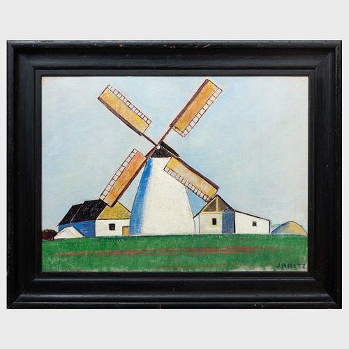Jozsa Jaritz (1893-1986): Windmill