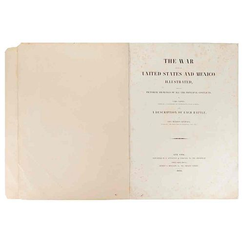 Nebel, Carl - Kendall, George Wilkins. The War Between the United States and Mexico... New York-Philadelphia, 1851. 12 lithographs.