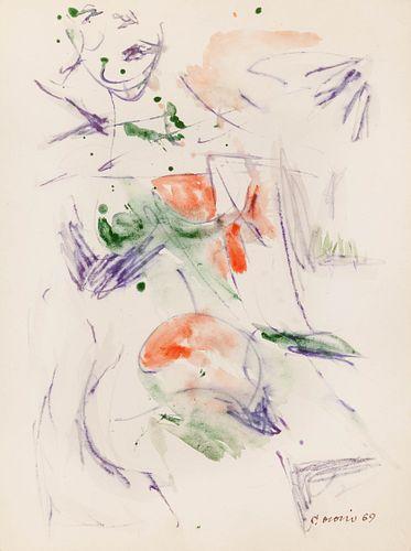 Carlos Osorio (Puerto Rican, 1927-1984) Untitled, 1969