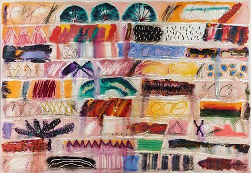 Dick Jemison (American, b. 1943) Dreamwork X, 1987