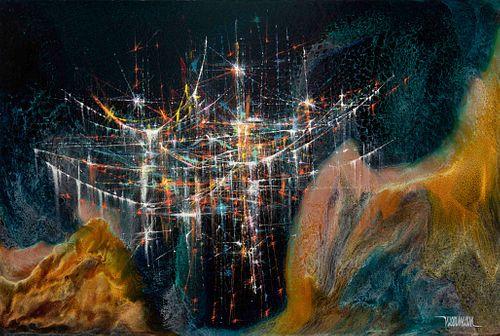 Leonardo Nierman (Mexican, b. 1932) Untitled
