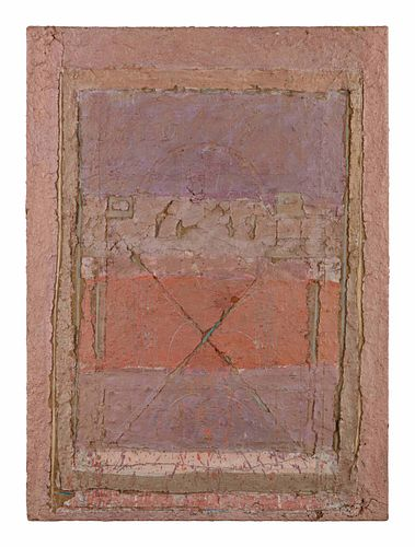 Matthew Thomas (Maniursi Buddhasena) (American, b. 1943) Time-Form, 1983