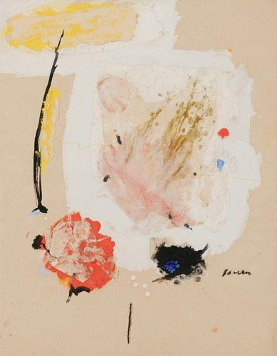 John Ferren (American, 1905-1970) Collage, 1970