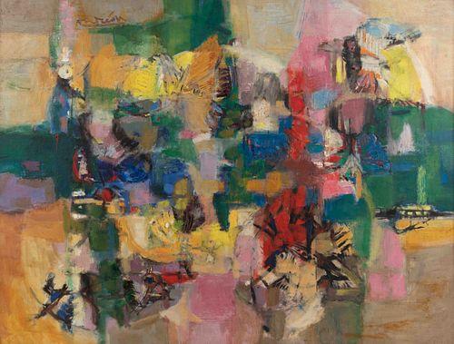 Constantin Andreou (Greek, 1917-2007) Les Papillons, c. 1957-1958