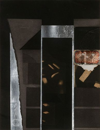 Louise Nevelson (American, 1899-1988) Untitled (from the Aquatints Portfolio), 1973