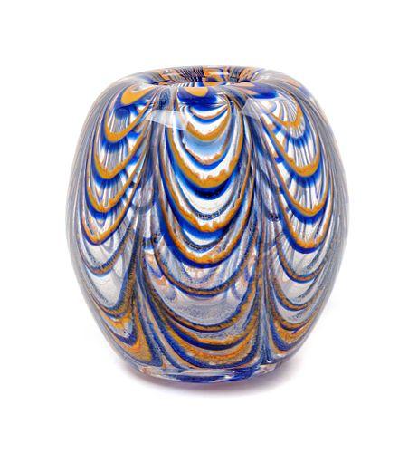 Dominick Labino (American, 1910-1987) Paperweight Vase