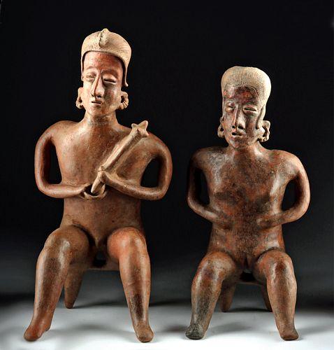 Nayarit San Sebastian Style Pottery Couple w/ TL