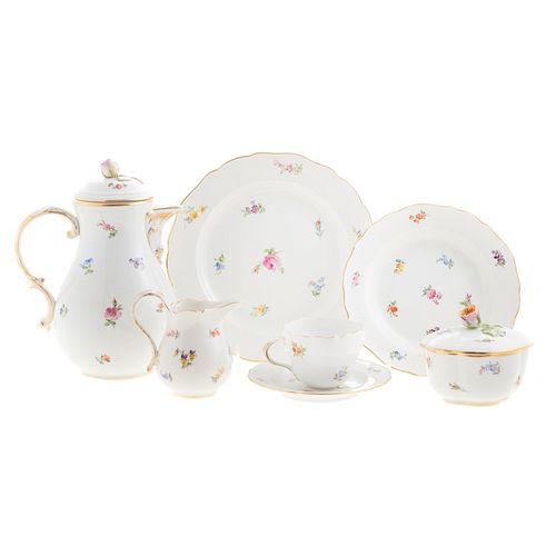 Meissen Porcelain Partial Dinner Service