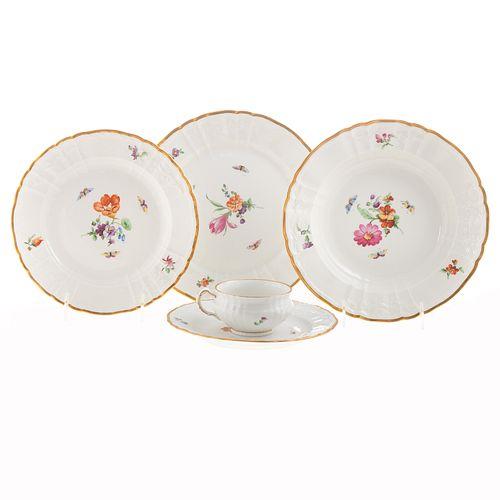 KPM Porcelain Partial Dinner Service