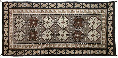 Navajo, Teec Nos Pos Weaving, ca. 1940