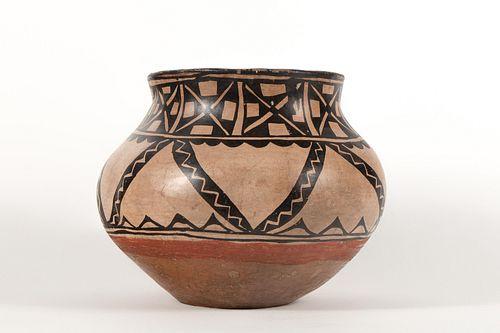 Tesuque, Polychrome Water Jar