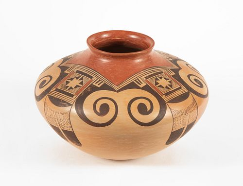 Hopi, Fannie Nampeyo, Polychrome Jar, ca. 1978