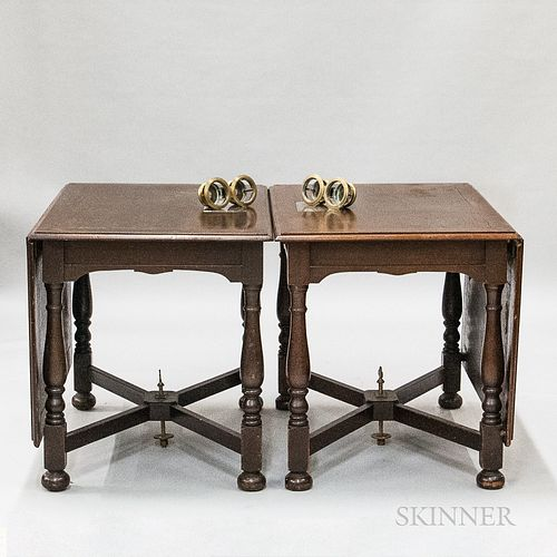 S.S. Governor Cobb Colonial Revival Mahogany Two-part Drop-leaf Table