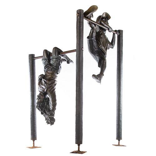 Mark Hopkins, Hanging Around Bronze