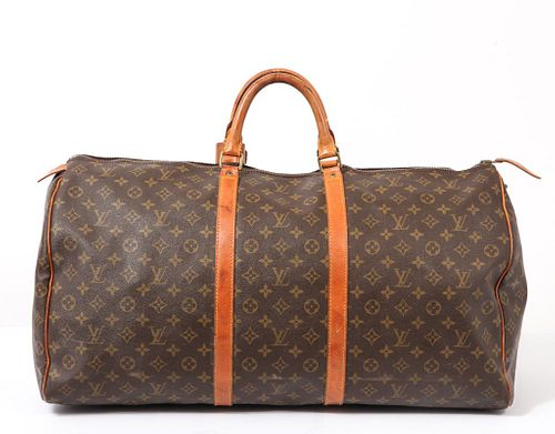Louis Vuitton Monogram Keepall 60 Travel Bag