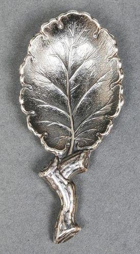 "Buccellati Sterling Silver ""Elba"" Tea Caddy Spoon"