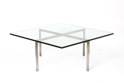 """Mies Van Der Rohe for Knoll """"Barcelona"""" Low Table"""