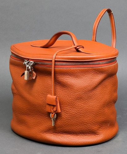 Hermès Intercity Leather Vanity Travel Bag
