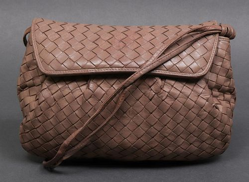 Bottega Veneta Woven Leather Handbag