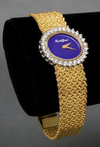 Bueche Girod 18K Yellow & White Gold Diamond Watch