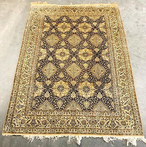 "Persian Floral Carpet, 12' 2"" x 8' 8"""