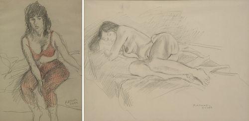 RAPHAEL SOYER (AMERICAN, 1899-1987).