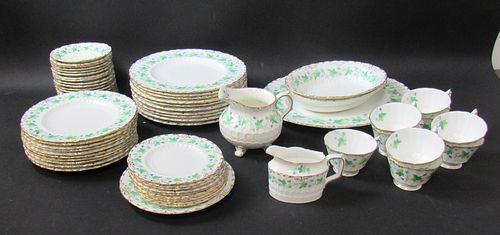 Royal Crown Derby Partial Porcelain Service.