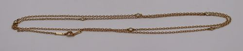 JEWELRY. Peretti for Tiffany & Co. 18kt Gold and