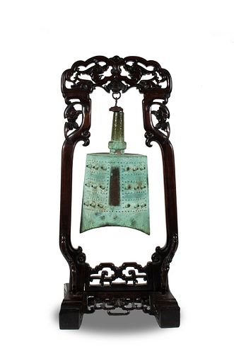 Chinese Bronze Bell, Eastern Zhou–Spring and Autumn