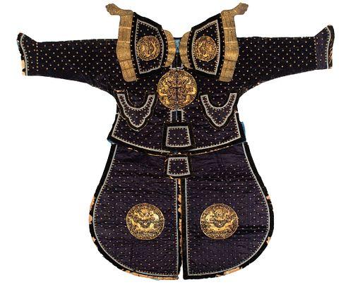 Chinese Ceremonial Armor, 19th Century