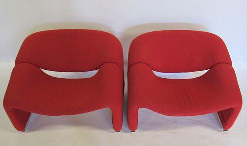 """Pair Of Pierre Paulin Artifort """"Groovy Chairs"""""""
