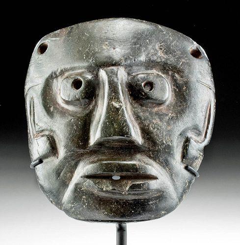 Important Maya Serpentine Mask , ex-Miguel Covarrubias