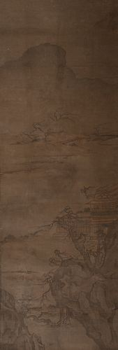 Unsigned Chinese Landscape Painting, 17–18th Century