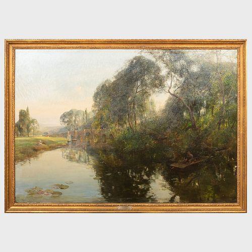 Rex Vicat Cole (1870-1940): Upper Thames
