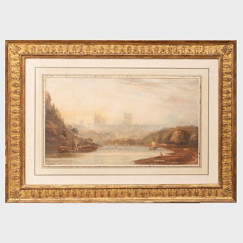 John Varley (1778-1842): View of Yorkminster